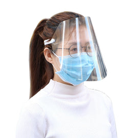 Transparent Protective Face Shield | Anti Splash Safety Face Shield | UrPosture.com