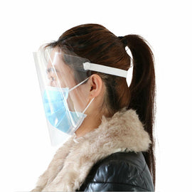 Transparent Anti Fog Full Face Safety Face Shield / Protective Face Shield
