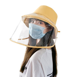 Sfit Protective Visor Face Shield Clear Visor Flip Up Transparent Face Shield Anti Splash Elastic Band Full Face Cover for Workshop Cooking Cleaning Pink