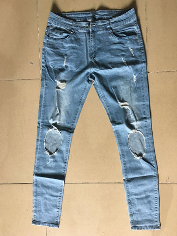 Destroyed Jeans Mens | Destroyed Ripped Jeans Mens | UrPosture.com