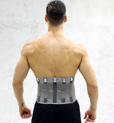 For Men Women Elastic Breathable Lumbar Brace - Waist Support Corset Orthopedic Posture Back Belt- lumbar spine relieves the pressure