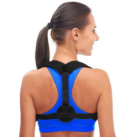 Back Posture Corrector for Women Men, Prevent Slouching - Relieve Pain - Posture Straps, Clavicle Support Brace - Best support for upper back pain and Hunchback correction