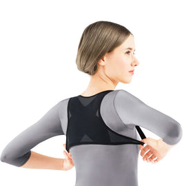 WOMEN POSTURE CORRECTOR BACK AND SHOULDER SUPPORT ADJUSTIBLE BREATHABLE BRACE BELT FOR WOMEN