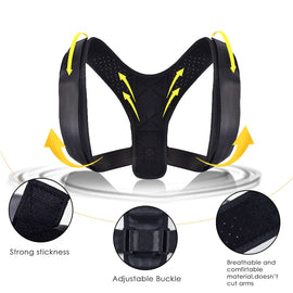 Adjustable Posture Corrector Back Support Belt - Shoulder Therapy Corrective Posture Corrector for Women Brace Spine