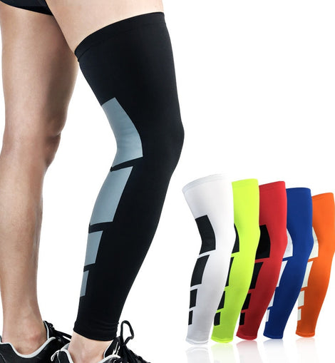 Calf Thigh Compression Sleeves Knee Brace for Calf Support Soccer Volleyball Cycling 1 PC