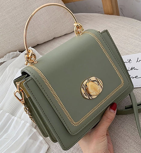 Leather Mini Crossbody Bags For Women 2020  Shoulder Bag Female Purses and Handbags