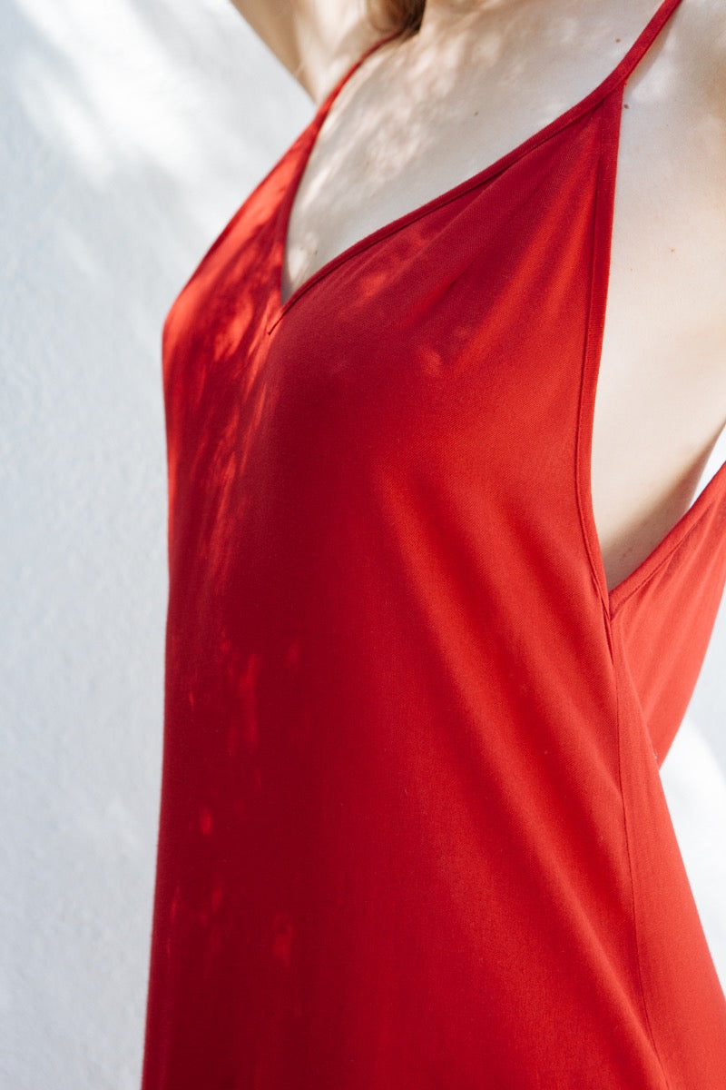 ROBE RENETA ROUGE - CASS - Avenir 02