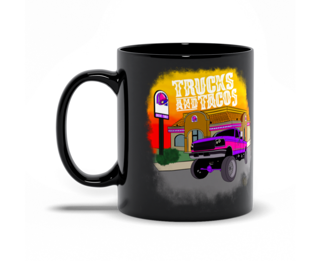 Trucks & Tacos Coffee Mug