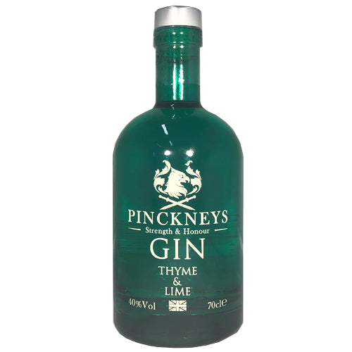 Pinckneys Classic Thyme & Lime Gin 70cl 40% ABV