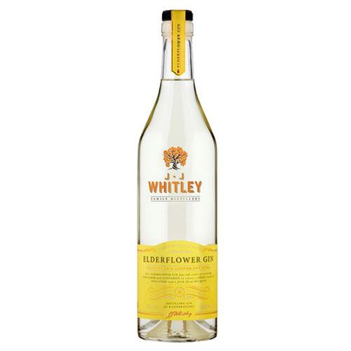 JJ Whitley Elderflower Gin 70cl 38.6% ABV