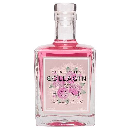 Collagin Rose Gin 50cl 40% ABV