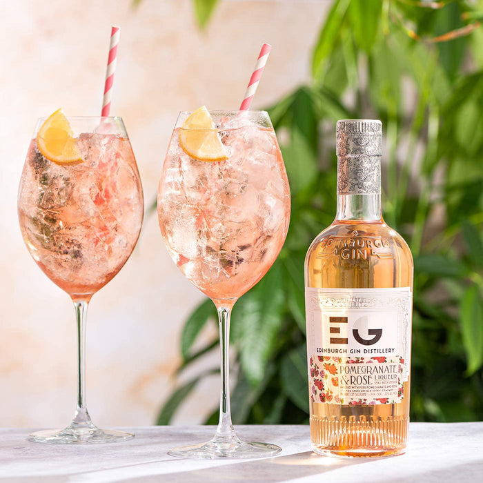 Edinburgh Gin Pomegranate and Rose Liqueur 20cl 20% ABV
