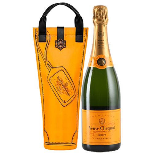 Veuve Clicquot Brut NV Champagne Yellow Label 75cl Shopping Bag