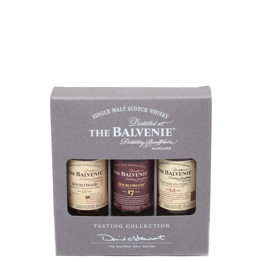 Balvenie Whisky Tasting Collection Miniature Gift Pack 3x5cl 43% ABV