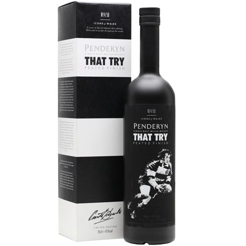 Penderyn 'That Try' Single Malt Welsh Whisky 70cl 41% ABV