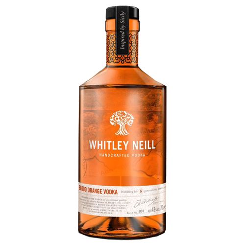 Whitley Neill Blood Orange Vodka 70cl 43% ABV