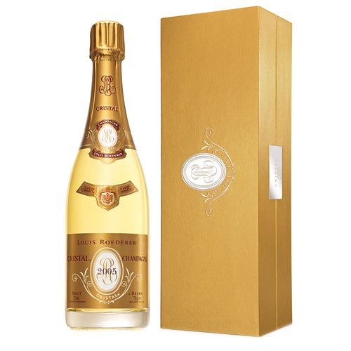 Louis Roederer Cristal 2005 Vintage Champagne 75cl Gift Boxed