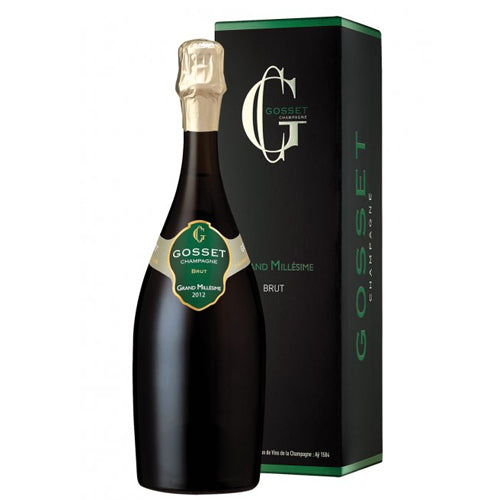 Gosset Grand Millesime 2012 Champagne 75cl Gift Boxed
