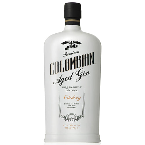 Dictador Premium Colombian Aged Gin Ortodoxy 70cl 43% ABV