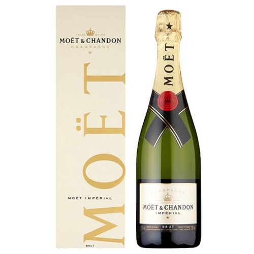Moet and Chandon Brut Imperial NV Champagne 75cl Gift Boxed 12% ABV