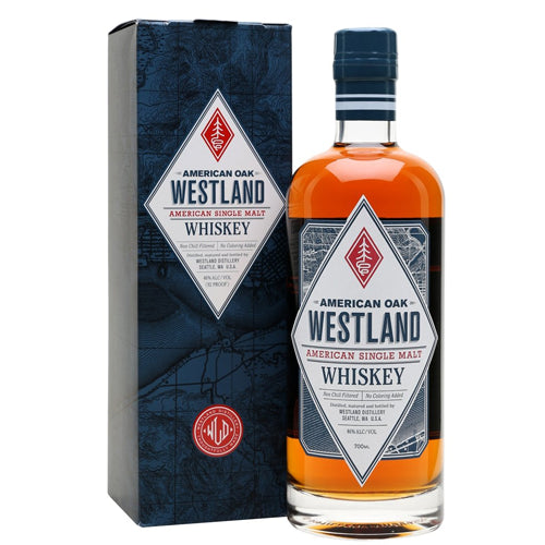 Westland American Oak Single Malt Whiskey 70cl 46% ABV