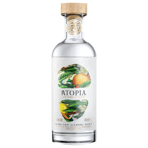 Atopia Spiced Citrus Ultra-Low Alcohol Spirit 0.5% ABV 70cl