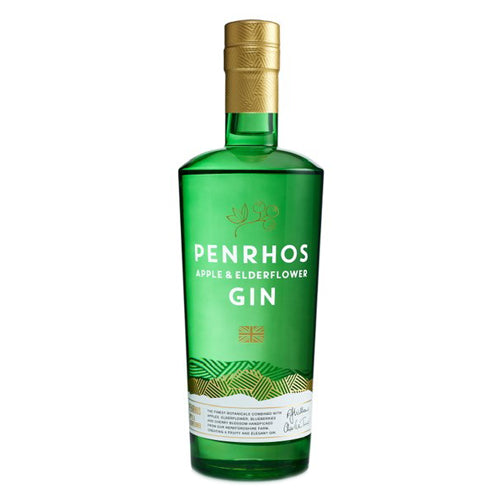Penrhos Apple & Elderflower Gin 70cl with Free Miniature