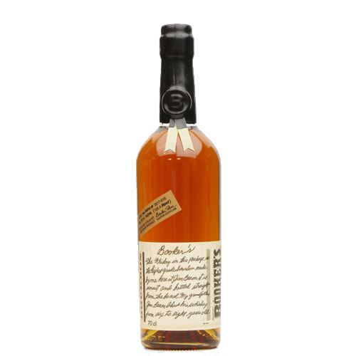 Booker's 6 Year Old True Barrel Bourbon (2018-01E) 70cl 63.70%