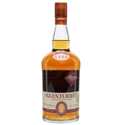 Glenturret Single Malt Scotch Whisky Sherry Cask 70cl 43% ABV