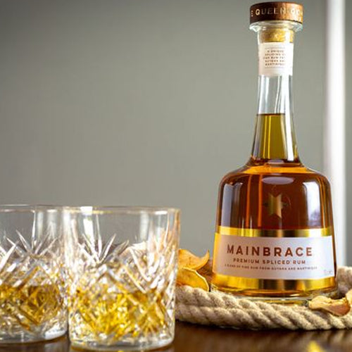 Mainbrace Premium Golden Rum 70cl 40% ABV