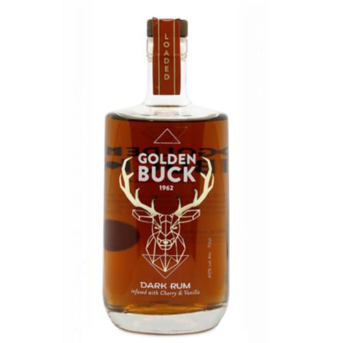 Golden Buck Dark Rum 70cl 40% ABV