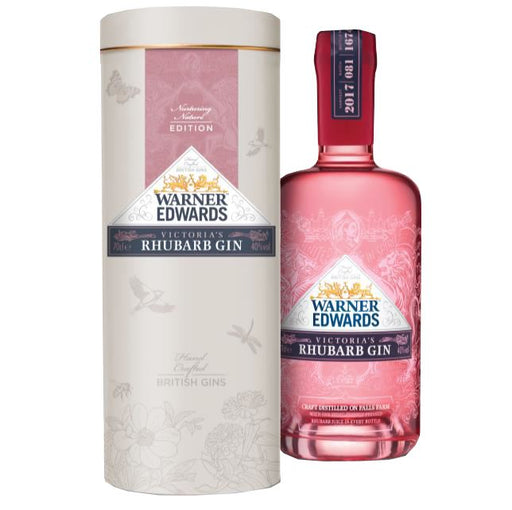 Warner's Rhubarb Gin in Gift of Nature Tin 70cl