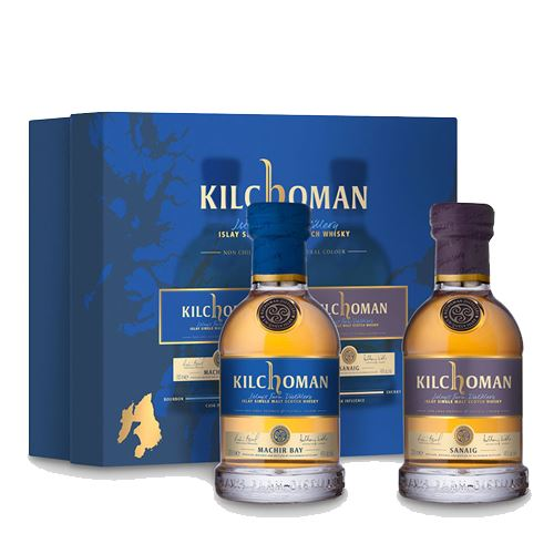 Kilchoman Twin Pack Gift Set 2 x 20cl