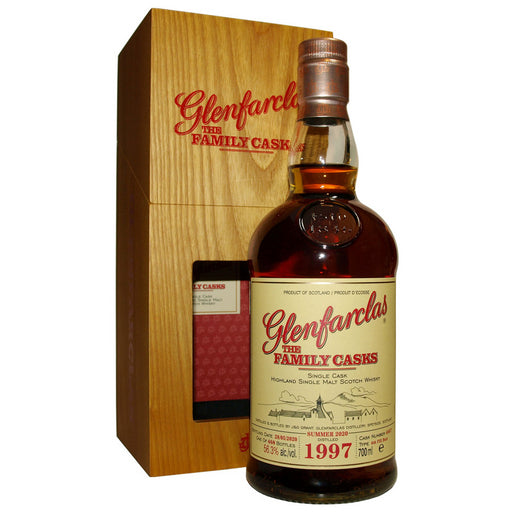 Glenfarclas 1997 Family Cask #4667 Summer 2020 Whisky