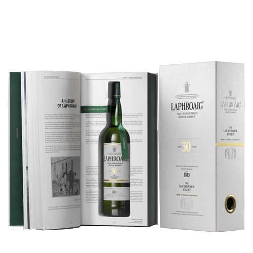 Laphroaig 30yo Ian Hunter Limited Edition Whisky Book 1 75cl 46.7% ABV