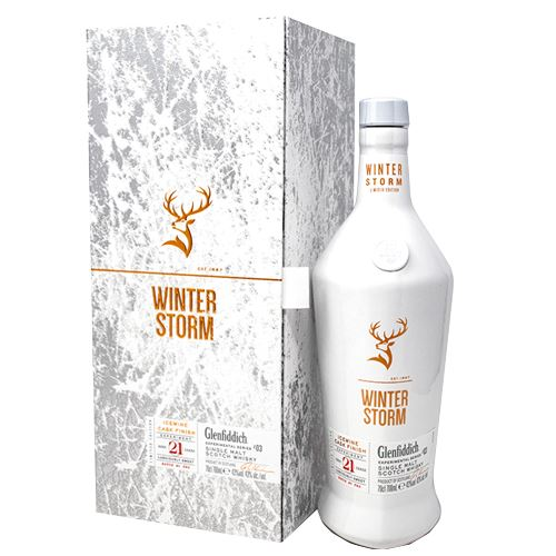 Glenfiddich Winter Storm Whisky Gift Boxed 70cl 43% ABV