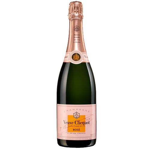 Veuve Clicquot Rosé NV Champagne 75cl Naked 12% ABV