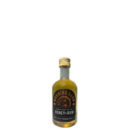 Burning Barn Honey and Rum Miniature 5cl 29% ABV