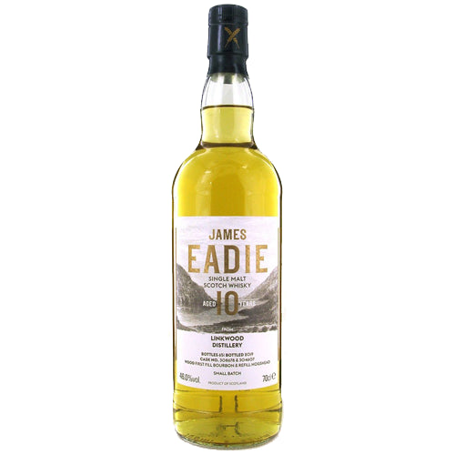 James Eadie Linkwood 10 Year Old First Fill Bourbon Cask Finish Whisky 70cl 46% ABV