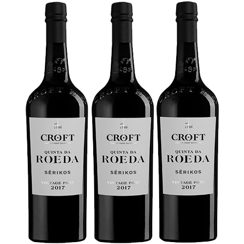 Croft Quinta da Roeda Serikos 2017 Vintage Port Case of 3 x 75cl