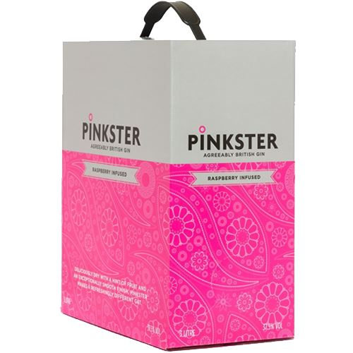 Pinkster Gin 'On Tap' 3 Litre Box 38% ABV