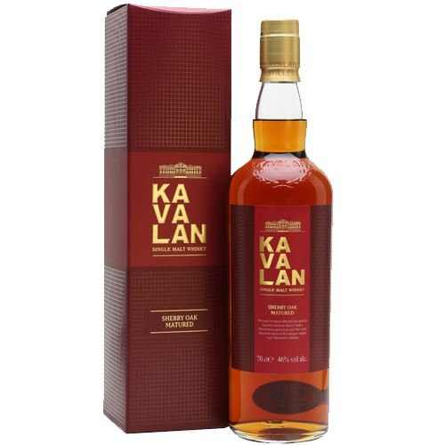 Kavalan Sherry Oak Matured Single Malt Whisky 70cl 46% ABV