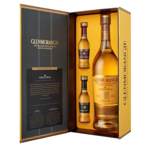 Glenmorangie Pioneer Set, 10 Year Old 70cl with 2 x 5cl miniatures