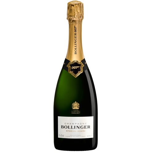 Bollinger Bond 007 James Bond Special Cuvee NV Champagne Gift Box 75cl
