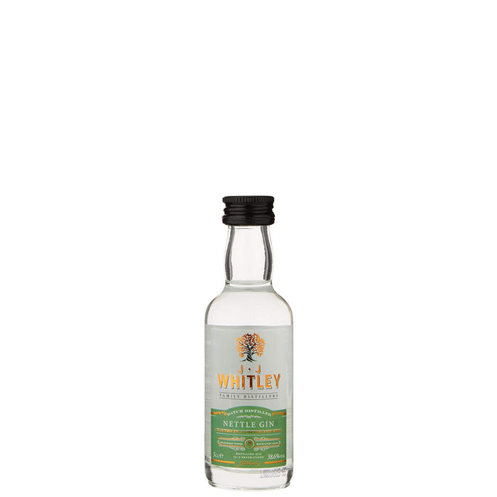 JJ Whitley Nettle Gin Miniature 5cl 38.6% ABV