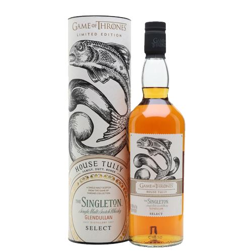 Game of Thrones House Tully - Singleton Glendulan Reserve Whisky 70cl