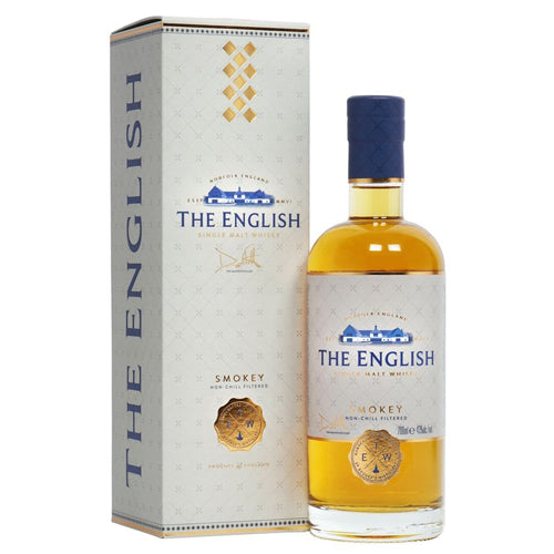 The English Smokey Single Malt Whisky 70cl 43% ABV