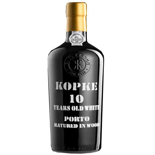 Kopke White 10 Year Old Port 75cl 20% ABV