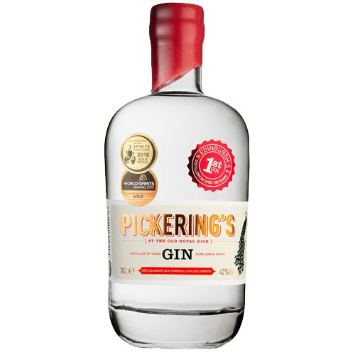 Pickerings Gin 70cl 42% ABV