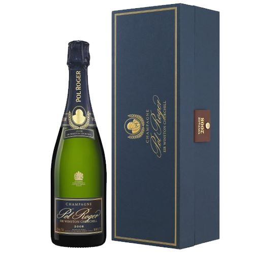 Pol Roger Sir Winston Churchill Vintage Champagne 2008 Magnum 150cl Gift Box